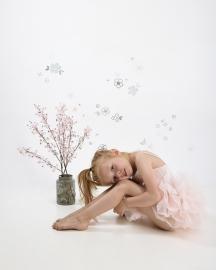 Lilipinso Ballerina I Love Ballet - Muursticker (S1132) (op=op)