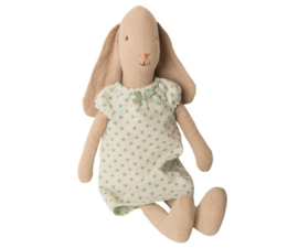 Maileg Bunny Nightgown Mint - Size 2 (28 cm)