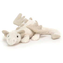 Jellycat Knuffel Draak - Snow Dragon Little