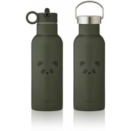 Liewood Neo Waterbottle Drinkfles - Panda Hunter Green (500ml)