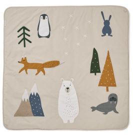 Liewood Glenn Activity Blanket Speelkleed - Artic Mix