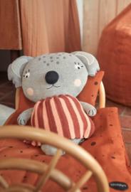 OYOY Rotan Poppenbed - Rainbow Doll Bed