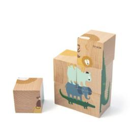 Trixie Houten Puzzel van Blokken