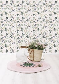 Lilipinso Wonderland Behang - Flowers Light