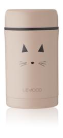 Liewood Bernard Food Jar - Cat Rose (500 ml)