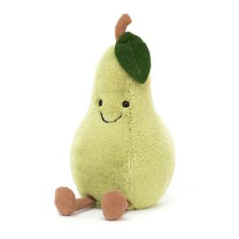 Jellycat Amuseable Pear Small - Knuffel Peer (19 cm)
