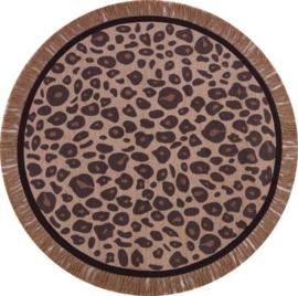 Tapis Petit Vloerkleed - Leopard Round