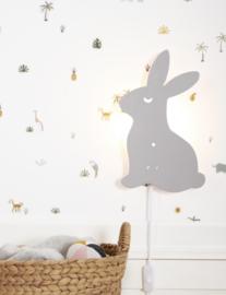 Roommate Lamp Bunny - Konijn Grijs