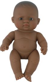 Miniland Babypop Latijns Amerikaans - Girl (21 cm)