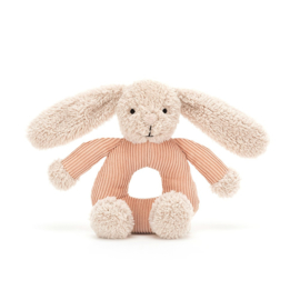 Jellycat Jumble Bunny Grabber - Rammelaar Konijn