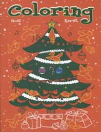 Uitgeverij Deltas Kerst Coloring - Kleurboek