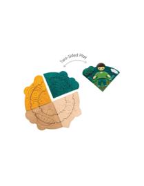 Plantoys Houten Puzzel Seizoenen Puzzel - Weather Dress Up
