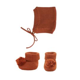 Olli Ella Dinkum Doll Knit Set - Umber