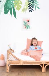 Lilipinso Tropica Poster - Papegaai Roze (P0257)