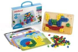 Miniland Mozaikspel Pegs 15mm + 3jaar