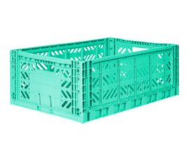AyKasa Folding Crate Maxi Box - Mint