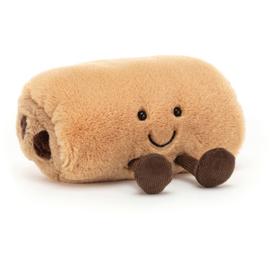 Jellycat Amuseable Pain au Chocolat - Knuffel Chocoladebroodje (11 cm)