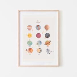 Mushie Poster Medium - Space