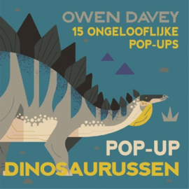 Uitgeverij Fontaine Pop-up Dinosaurussen - Owen Davey