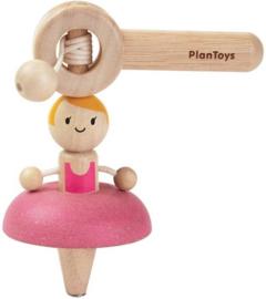 Plantoys Houten Trek Tol - Ballerina
