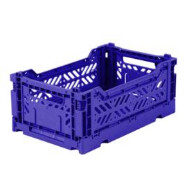 AyKasa Folding Crate Mini Box - Sax Blue