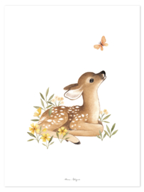 Lilipinso Oh Deer Poster - Fawn