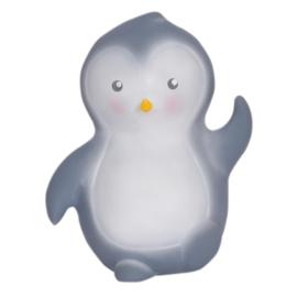 Tikiri Bijt- en Badspeelgoed met Rammelaar - Pinguin