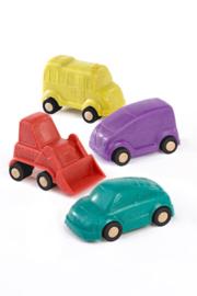 Miniland Mini Mobiel Auto's (9 cm) + 18maand