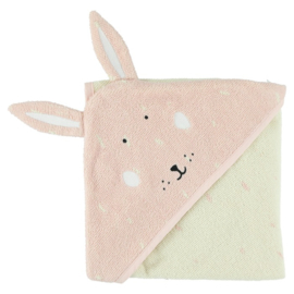 Trixie Badcape Hooded Towel Mrs. Rabbit - Konijn