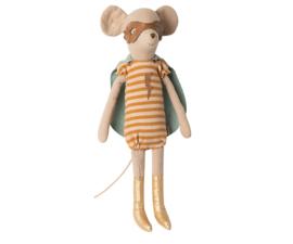 Maileg Knuffel Muis Super Hero Mouse Medium - Girl