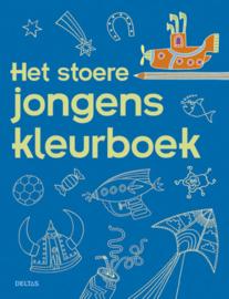 Uitgeverij Deltas Het stoere Jongens Kleurboek