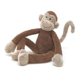 Jellycat SlackaJack Monkey - Knuffel Aap