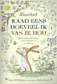 Uitgeverij Lemniscaat Kleurboek - Raad eens hoeveel ik van je Hou