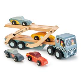 Tender Leaf Auto Transporter - Car Transporter +3j