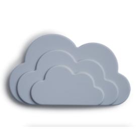 Mushie Bijtring Wolk Teether - Cloud