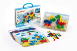 Miniland Mozaikspel Pegs 10mm + 3jaar