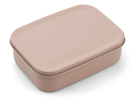 Liewood Lunchtrommel RVS Jimmy Lunchbox - Cat Rose (Extra groot)