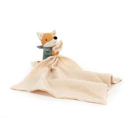 Jellycat Little Rambler Fox - Riverside Knuffeldoek Vos