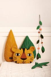 Roommate Ledikant dekbedovertrek - Tiger Yellow ochre