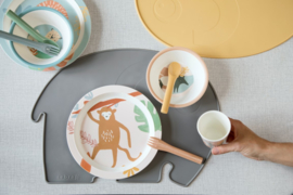 Sebra Placemat Olifant - Yellow