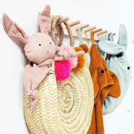 Liewood Augusta Badcape - Rabbit Mustard Oker Geel