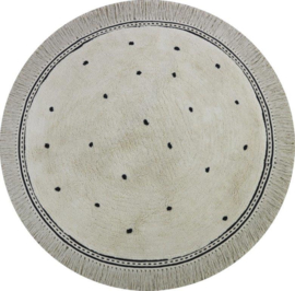 Tapis Petit Vloerkleed - Anna Dots Cream