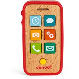 Janod Telefoon met Geluid - Rood