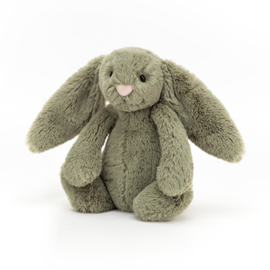 Jellycat Bashful Bunny Fern - Knuffel Konijn (18 cm)