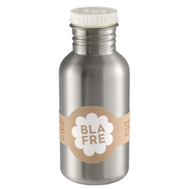 Blafre Drinkfles RVS - Wit (500ml)