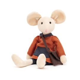 Jellycat Pedlar Mouse - Knuffel Muis