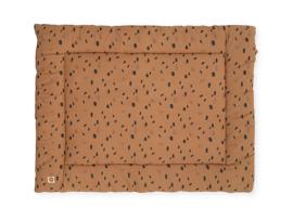 Jollein Boxkleed Spot - Caramel (80 x 100 cm)