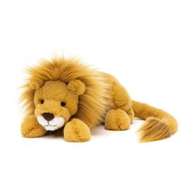 Jellycat Big Cats Louie Lion - Knuffel Leeuw Little (27 cm)