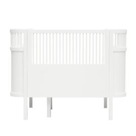 Sebra Kili Baby en Junior Bed - Wit