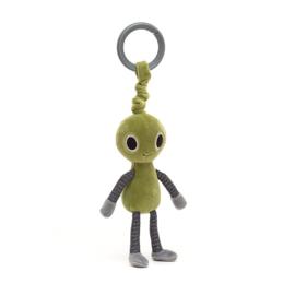 Jellycat Jitter Zalien - Vibrerende Babyspeeltje Alien